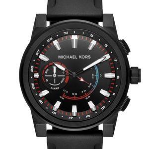 Michael Kors Men's Black Smartwatch MKT4010